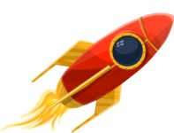 Universe Vectors - Mega Bundle - Rocket 2