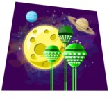 Universe Vectors - Mega Bundle - Alien Towers in Space