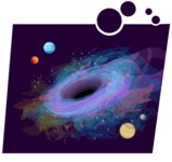 Universe Vectors - Mega Bundle - Black Hole in Space