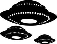 UFO Silhouettes