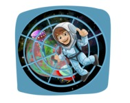 Astronaut in Spaceship