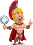 Spartan Warrior Cartoon Vector Character AKA Nikos - Search