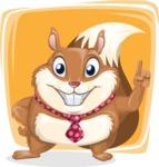 Antonio the Business Squirrel - Shape 5