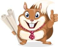 Antonio the Business Squirrel - Plans