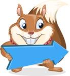 Antonio the Business Squirrel - Pointer 2