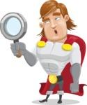 Handsome Superhero Cartoon Vector Character AKA Captain Millennia - Search