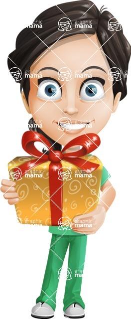 Female Surgeon Vector Cartoon Character AKA Manuela the Medical Intern - Gift