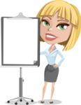 Mel as Miss Always Right - Presentation 1
