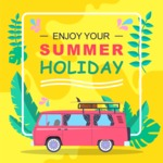 Summer Vector Graphics - Mega Bundle - Vector Summer Holiday Poster Template