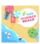 Summer Vector Graphics - Mega Bundle - Vector Beach Poster Template