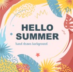 Summer Vector Graphics - Mega Bundle - Artistic Summer Poster Vector Template