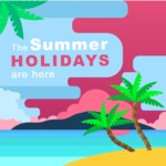 Summer Vector Graphics - Mega Bundle - Summer Holidays Vector Poster Template