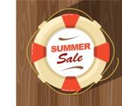 Summer Vector Graphics - Mega Bundle - Vector Buoy Poster Template