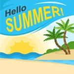 Summer Vector Graphics - Mega Bundle - Hello Summer Vector Poster Template