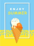 Summer Vector Graphics - Mega Bundle - Clean Summer Vector Poster Template
