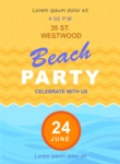 Summer Vector Graphics - Mega Bundle - Summer Beach Party Vector Poster Template