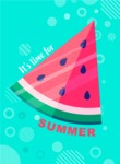 Summer Vector Graphics - Mega Bundle - Colorful Simple Style Summer Poster