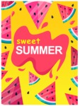 Summer Vector Graphics - Mega Bundle - Vector Sweet Summer Poster Graphic Template
