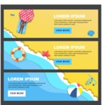 Summer Vector Graphics - Mega Bundle - Vector Summer Banner Template