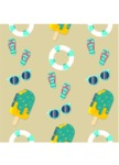 Summer Vector Graphics - Mega Bundle - Vector Summer Pattern