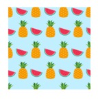 Summer Vector Graphics - Mega Bundle - Seamless Summer Fruits Vector Pattern