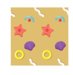Summer Vector Graphics - Mega Bundle - Vector Mussels Pattern