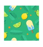 Summer Vector Graphics - Mega Bundle - Flat Vector Summer Pattern