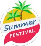 Summer Vector Graphics - Mega Bundle - Vector Summer Festival Logo Design Template
