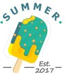 Summer Vector Graphics - Mega Bundle - Ice Cream Logo Design