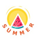 Summer Vector Graphics - Mega Bundle - Vector Summer Logo Design
