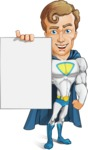 Hero with a Cape Cartoon Vector Character AKA Johnny Colossal - Presentation2