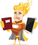 Jason Meteoro - Book and iPad