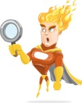 Fire Superhero Cartoon Vector Character AKA Jason Meteoro - Search