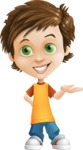 Cool Boy Cartoon Vector Character AKA Jamie Just-Chill - Showcase 2