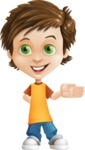 Cool Boy Cartoon Vector Character AKA Jamie Just-Chill - Show