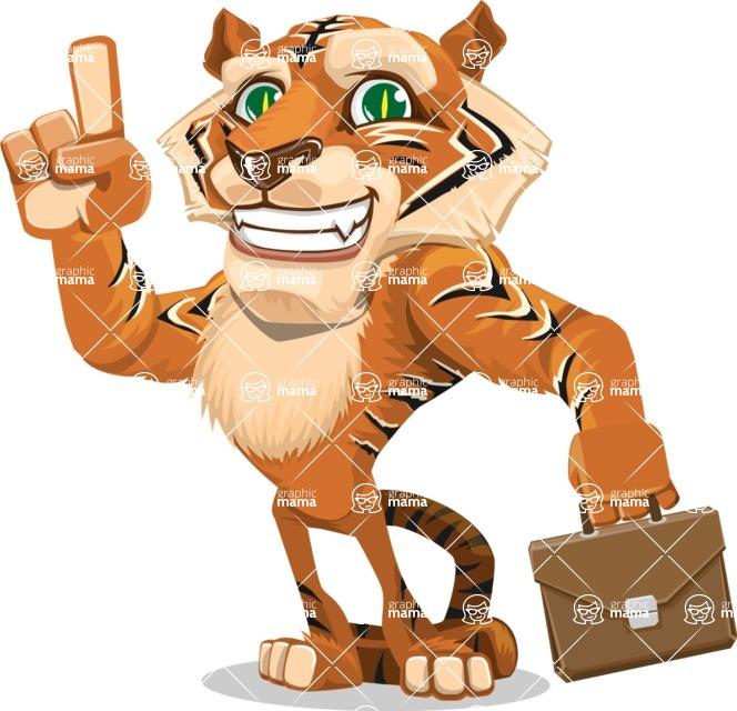 Tiger Bone - Briefcase 2