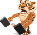 Tiger Bone - Briefcase 3