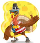 Jonathan Turkey the Patriot - Shape 5