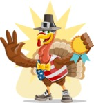 Jonathan Turkey the Patriot - Shape 8