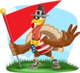 Jonathan Turkey the Patriot - Shape 9