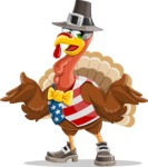 Jonathan Turkey the Patriot - Confused