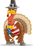 Jonathan Turkey the Patriot - Bored