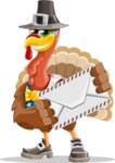 Jonathan Turkey the Patriot - Letter
