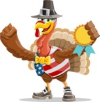 Jonathan Turkey the Patriot - Ribbon