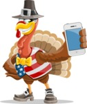 Jonathan Turkey the Patriot - iPhone