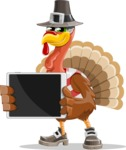 Jonathan Turkey the Patriot - iPad 2