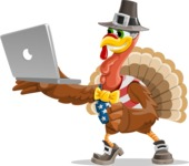 Jonathan Turkey the Patriot - Laptop 1