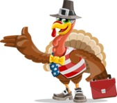 Jonathan Turkey the Patriot - Briefcase 2