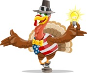 Jonathan Turkey the Patriot - Idea