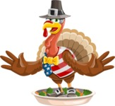 Jonathan Turkey the Patriot - Oh no!